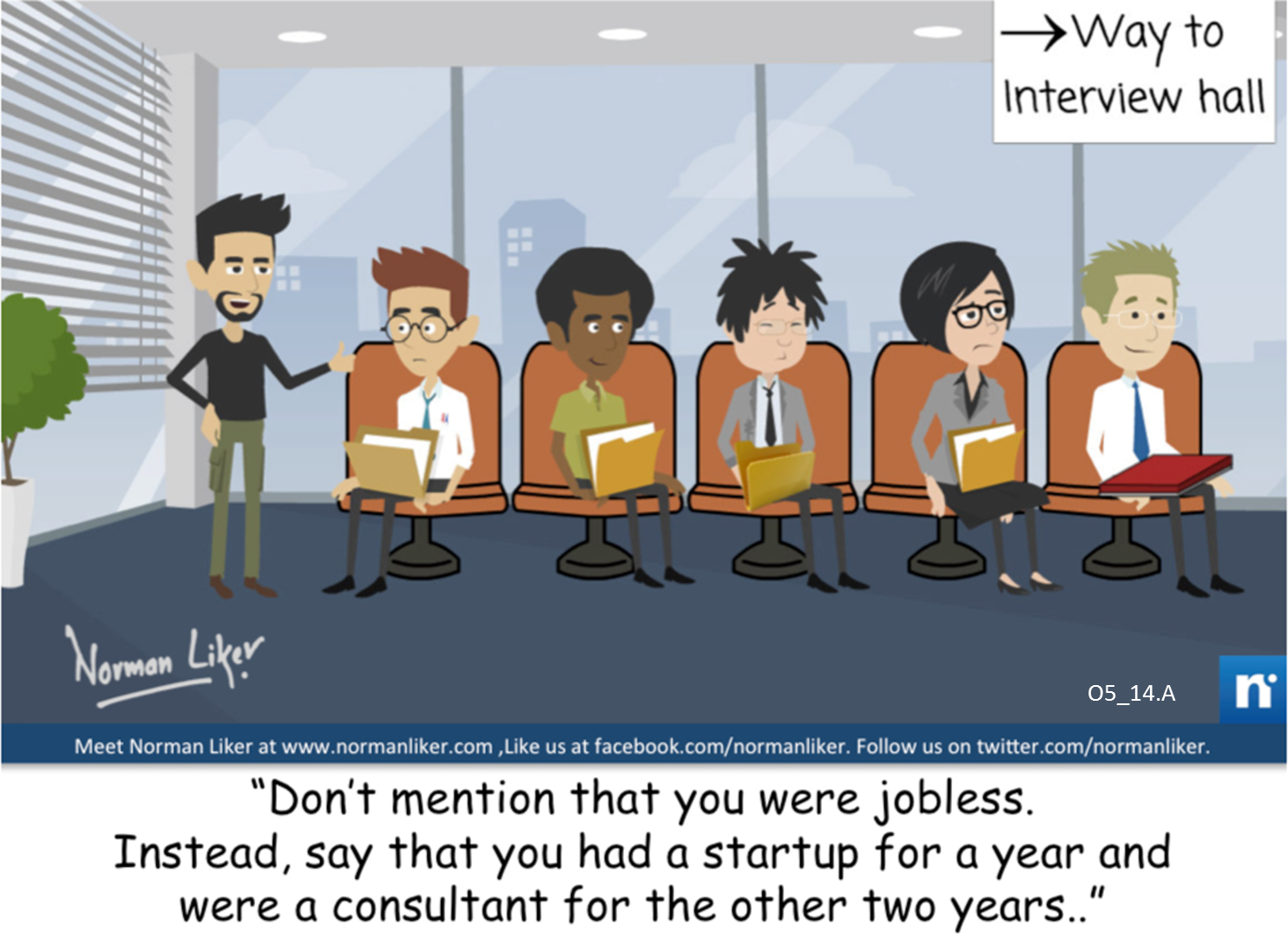 Office Comics: Interview Tips