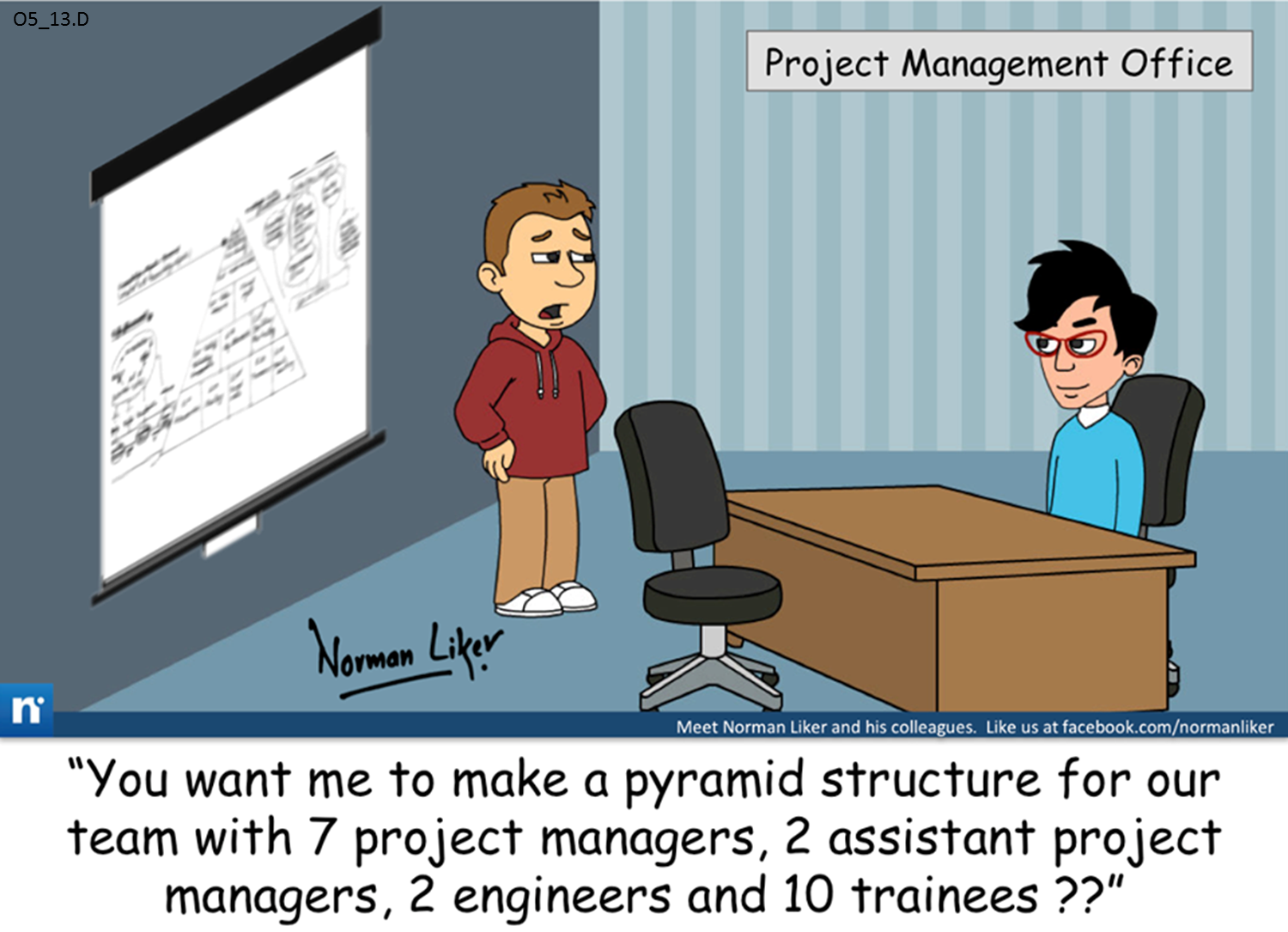 Office Comics: Pyramid Structure