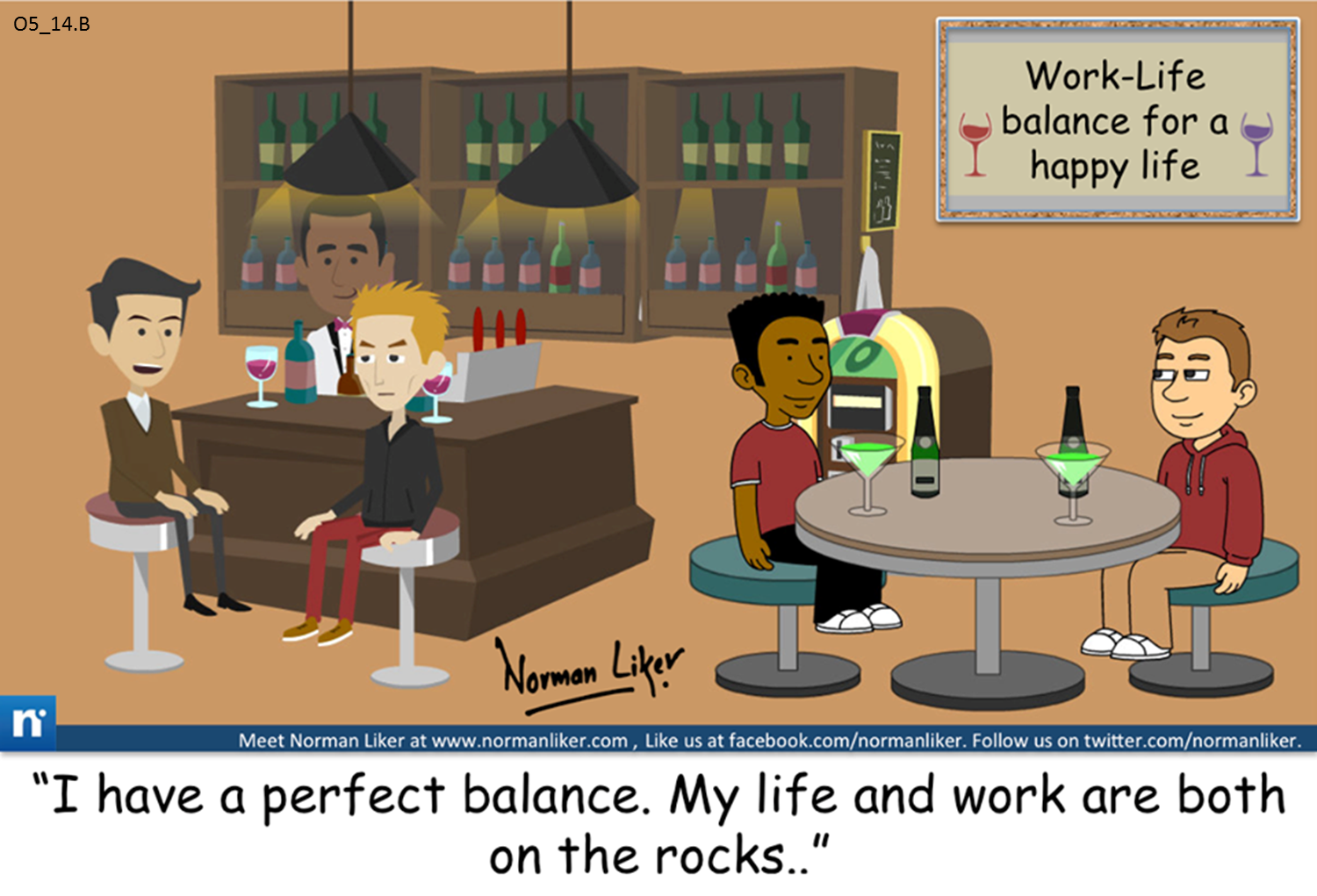 Office Comics: Perfect Balance