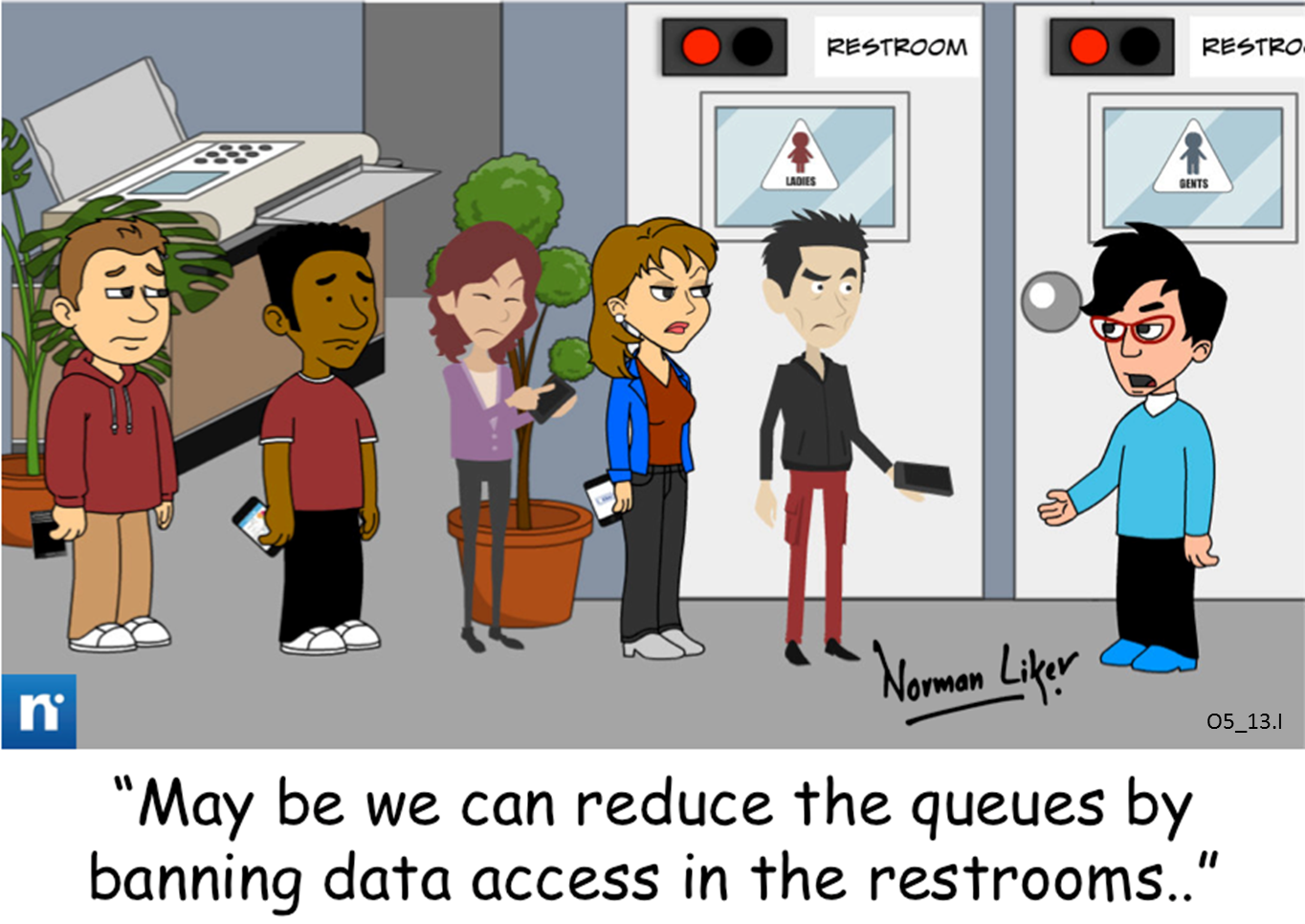 Office Comics: Data Access Ban