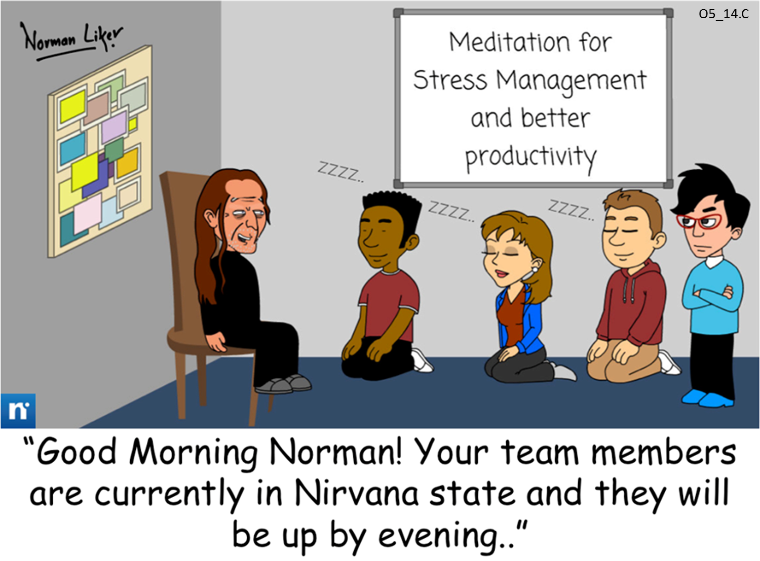 Office Comics: Stress Management
