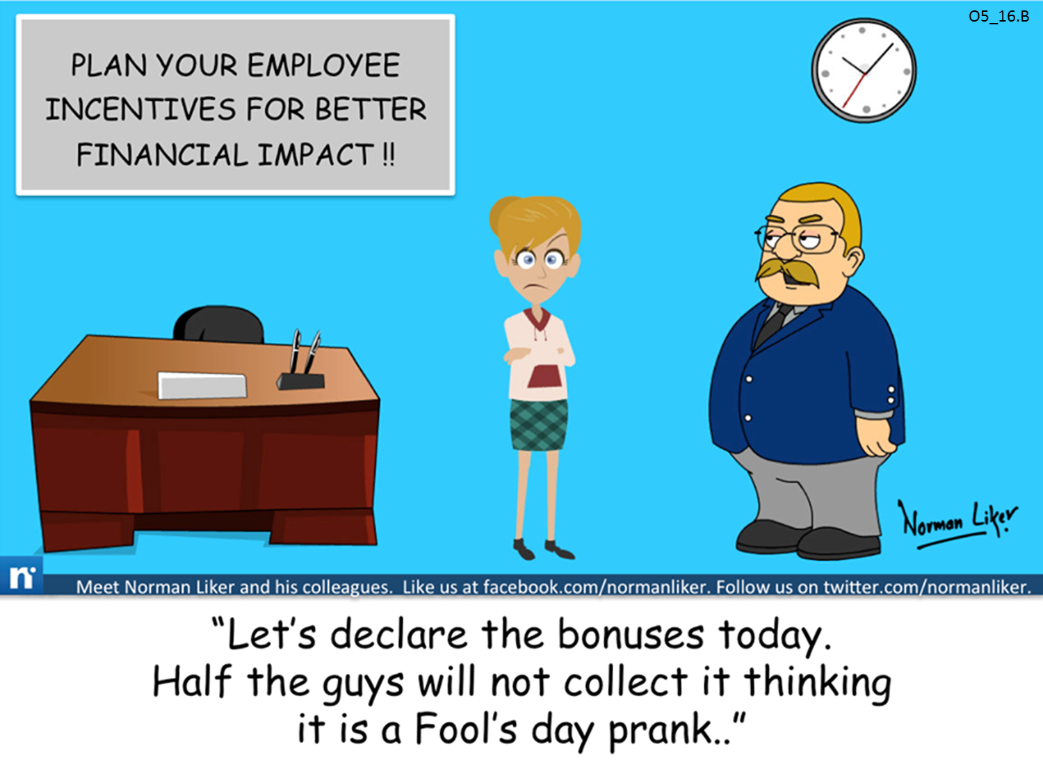 Office Comics: Employee Incentives