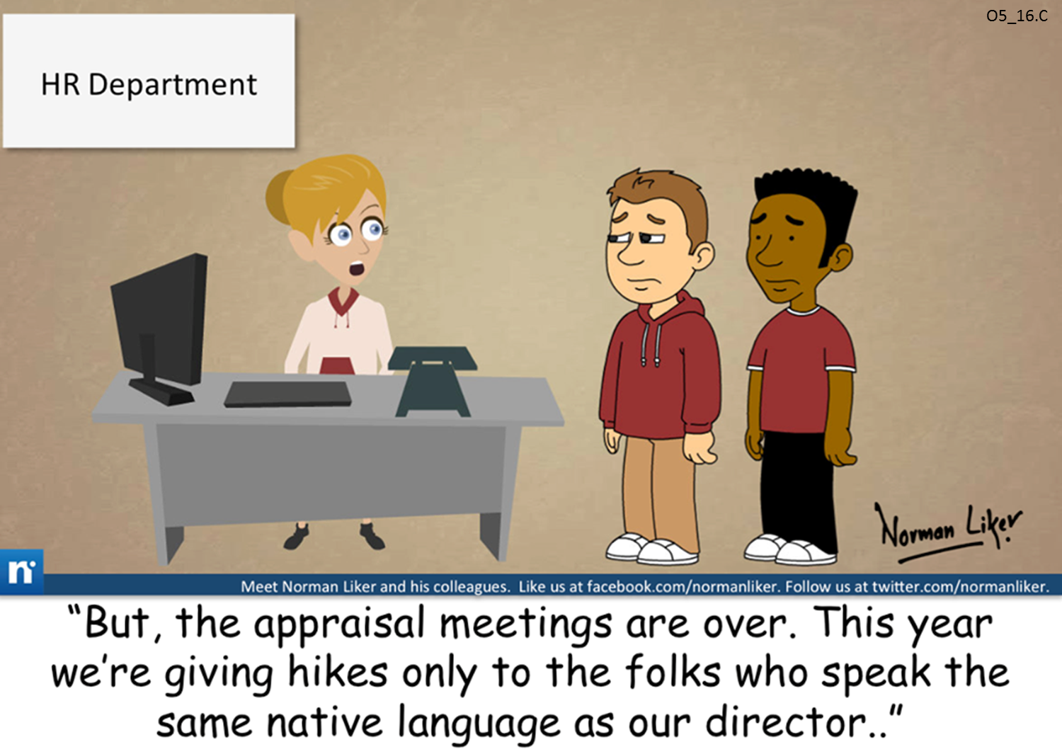 Office Comics: Selective Hikes