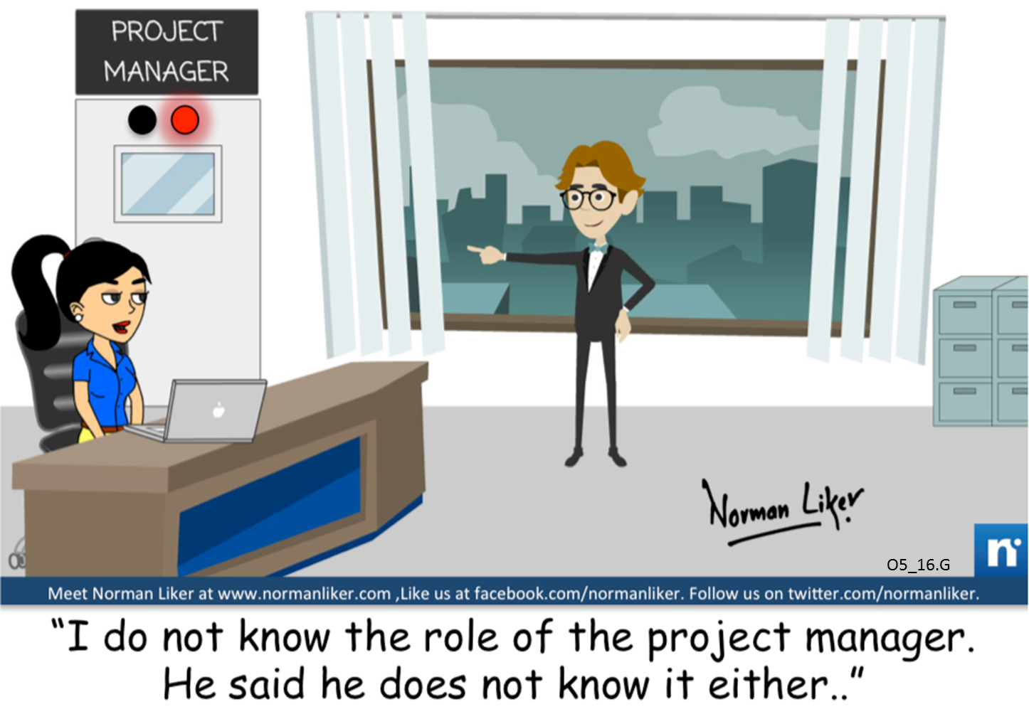 Office Comics: Project Manager