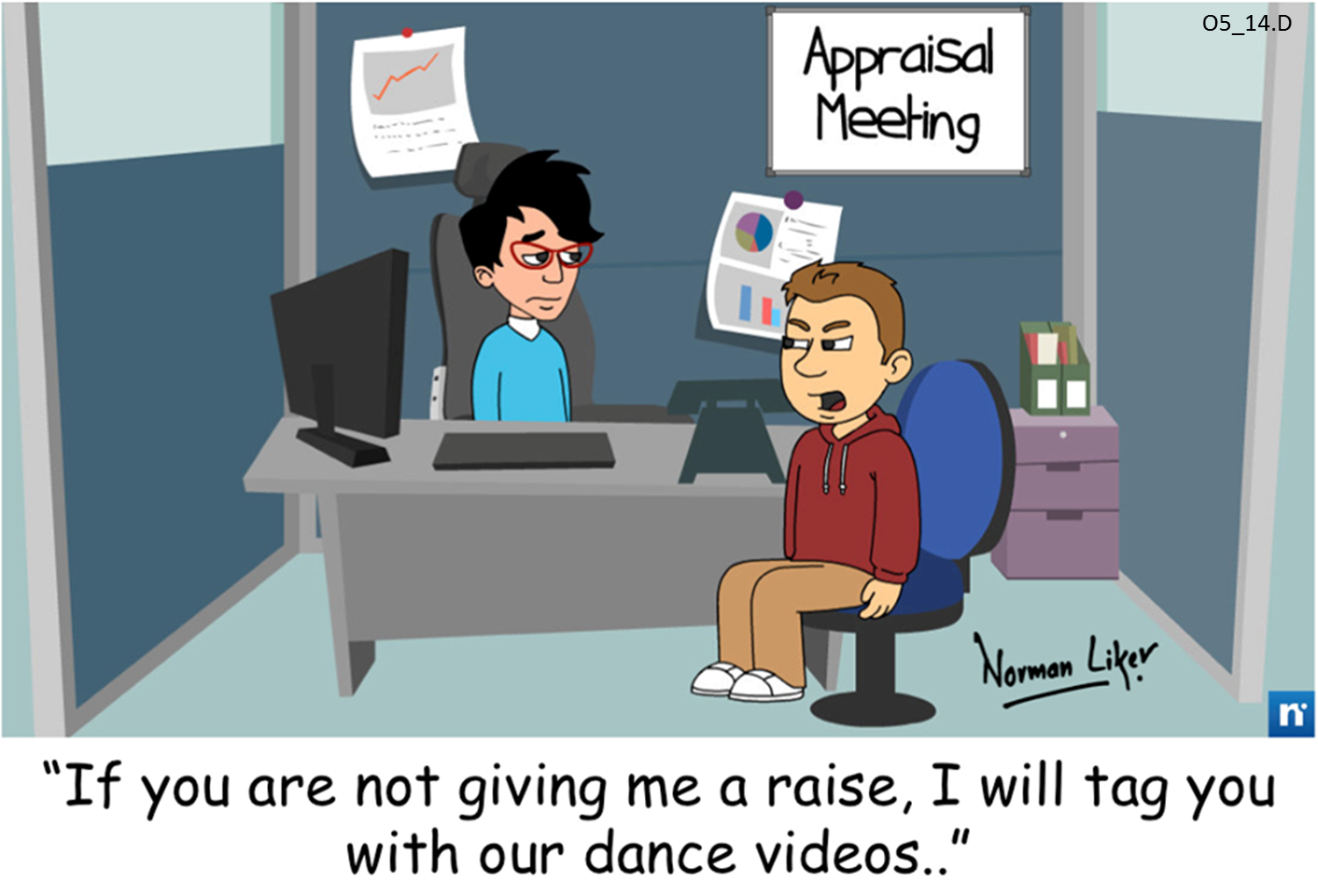Office Comics: Appraisal threat