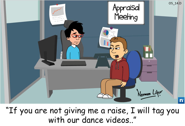 Office Comics: Appraisal threat