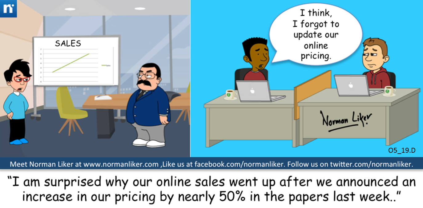Office Comics: Online Pricing