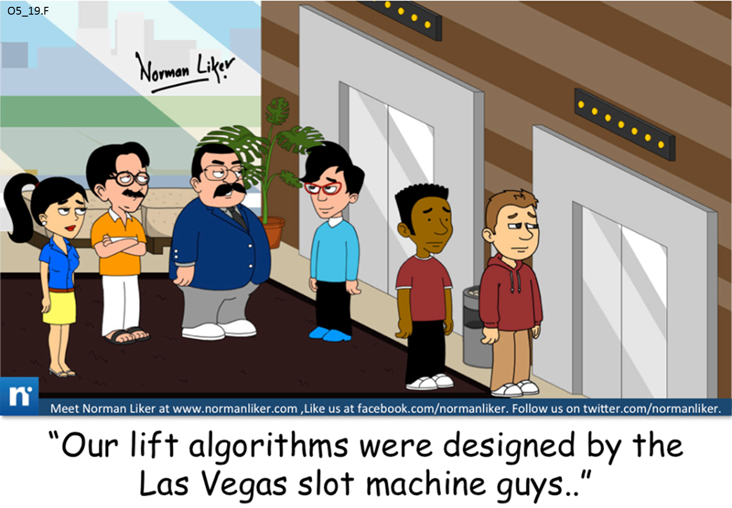 Office Comics: Lift Algorithms