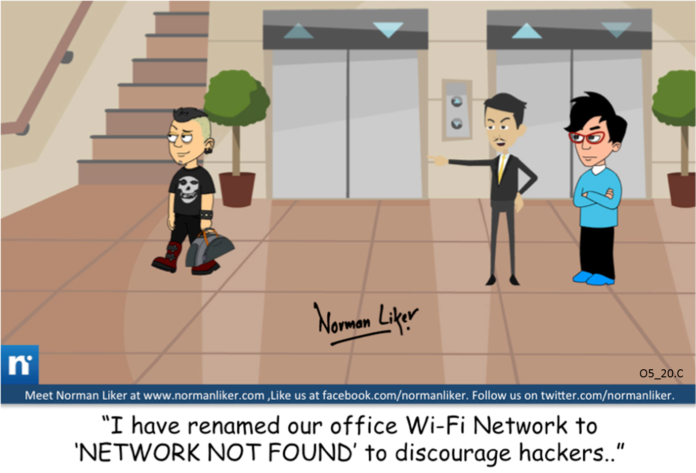 Office Comics: Network Not Found