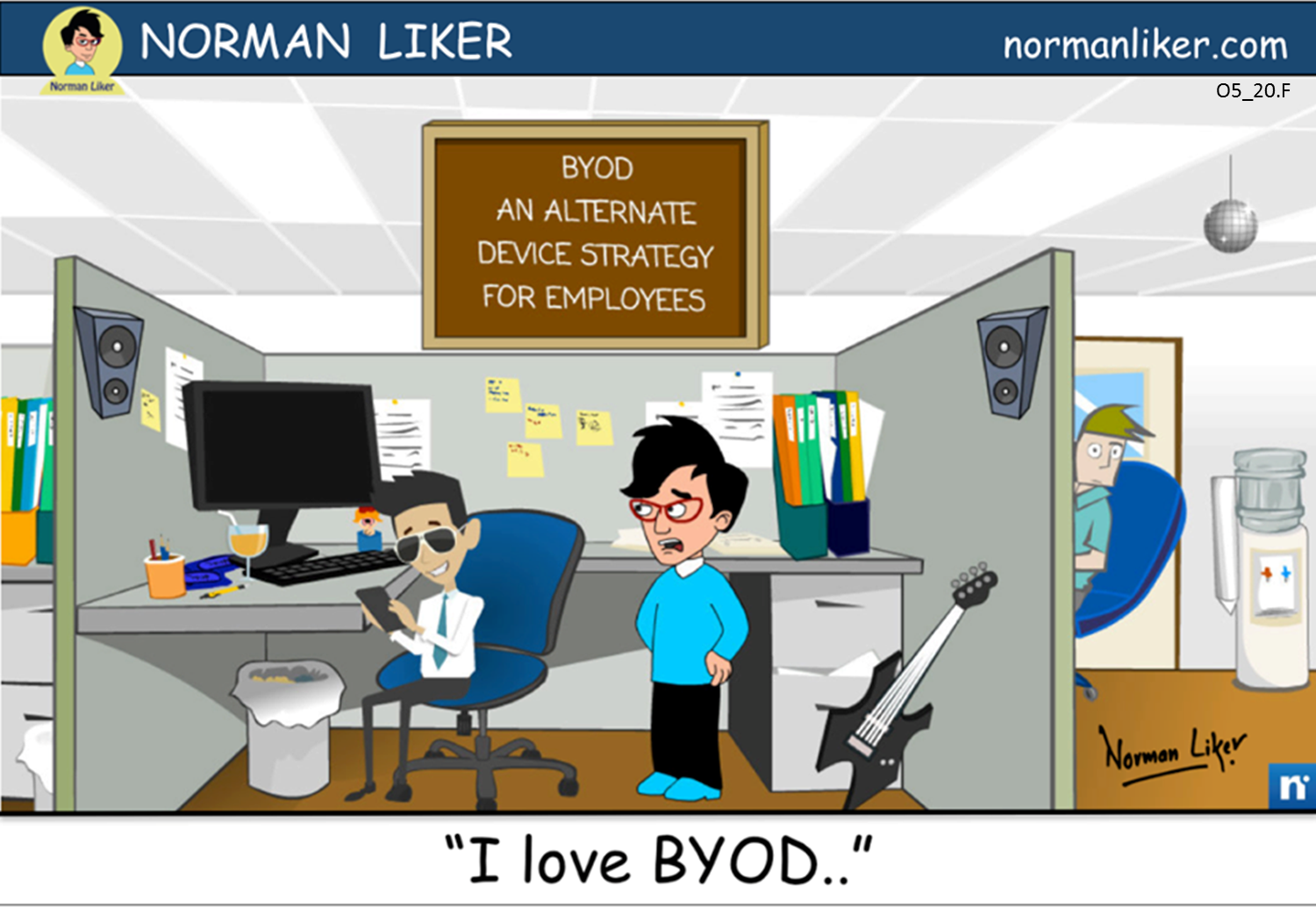 Office Comics: BYOD