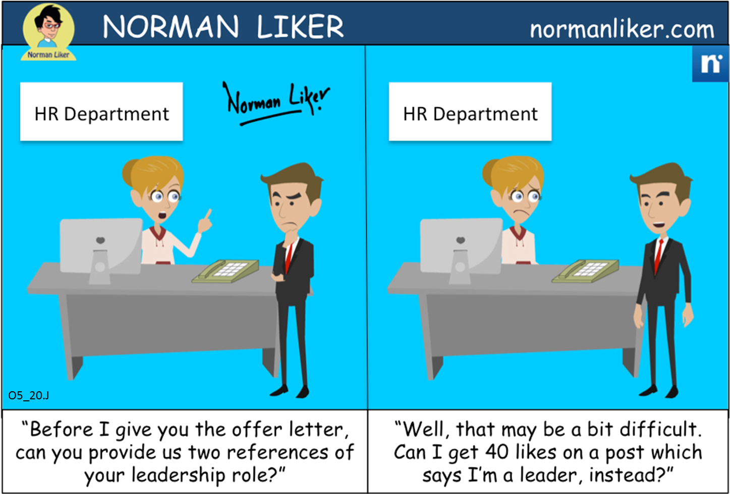 Office Comics: HR Department