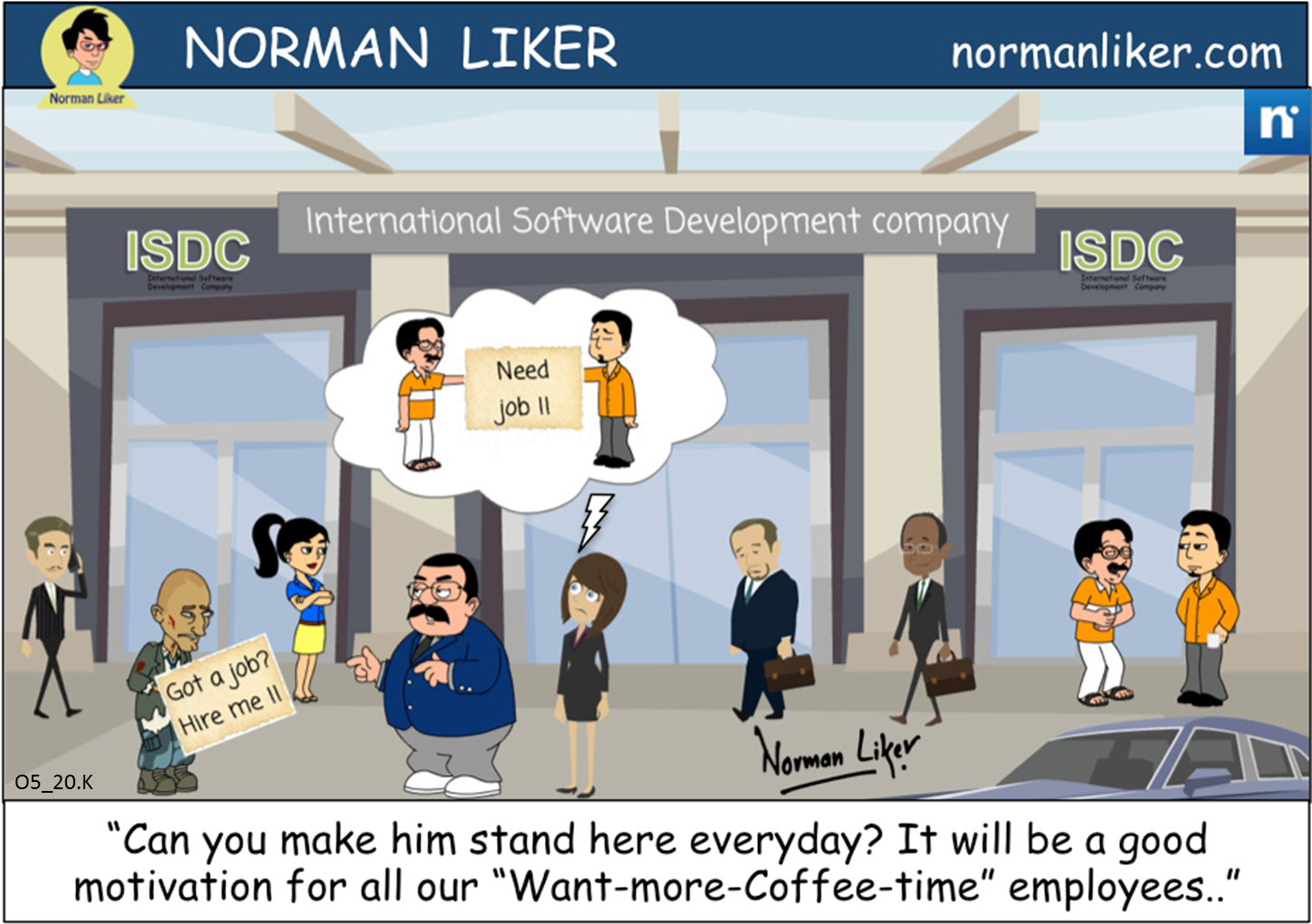 Office Comics: International Development Company